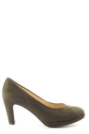 Gabor High Heels khaki Casual-Look