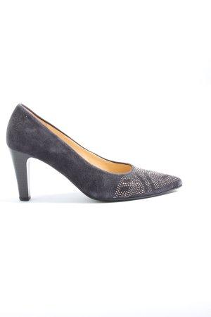 Gabor High Heels lila Casual-Look