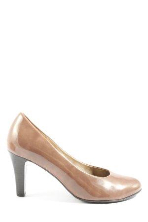 Gabor High Heels bronzefarben Business-Look