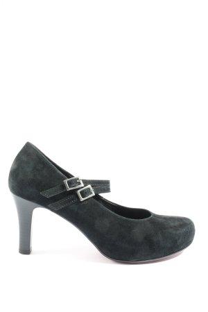 Gabor High Heels blau Business-Look