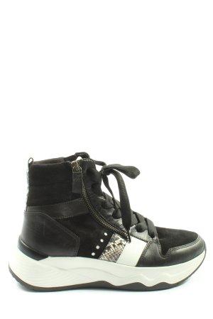 Gabor High Top Sneaker schwarz Casual-Look