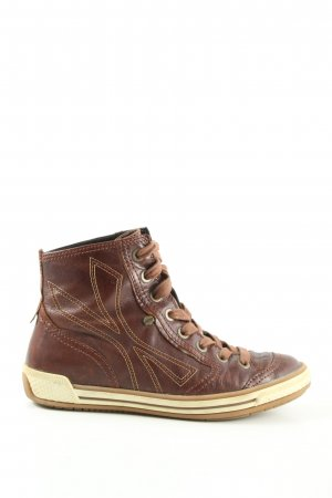 Gabor High Top Sneaker brown casual look