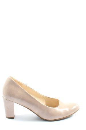 Gabor Zapato Tacón blanco puro look casual