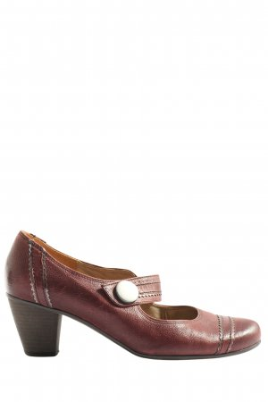 Gabor Escarpins Mary Jane brun style décontracté