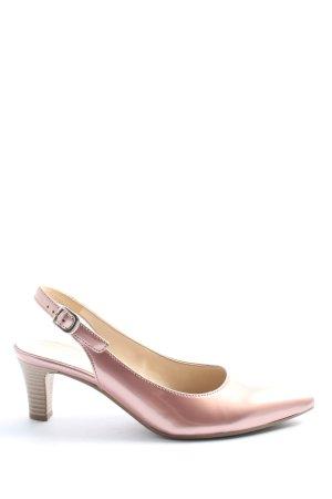 Gabor Slingback pumps roze zakelijke stijl
