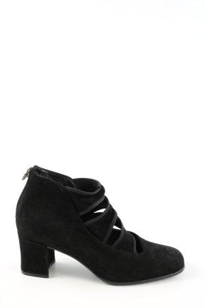 Gabor Chaussure à talons carrés noir style décontracté