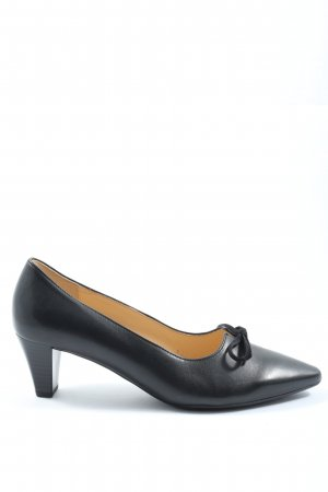 Gabor Pumps met hoge zool zwart elegant