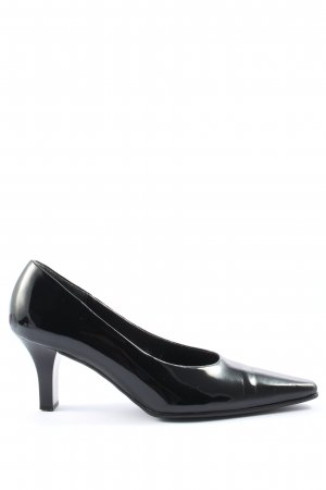 Gabor Chaussure à talons carrés noir style d'affaires