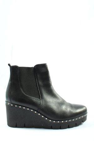 Gabor Keil-Stiefeletten schwarz Casual-Look