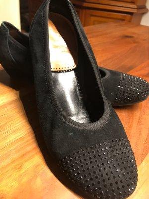 Gabor Comfort Zapatos sin cordones negro Cuero