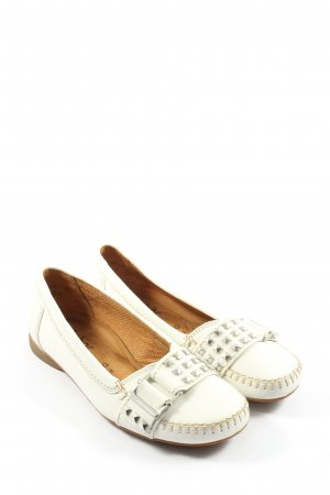 Gabor Moccasins white casual look