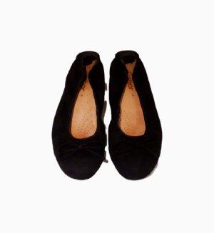 Gabor Ballerines pliables noir cuir