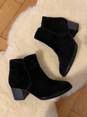 Gabor Comfort Booties black leather