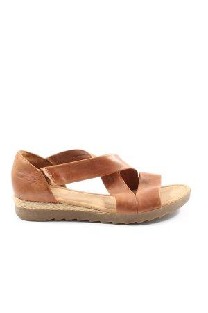 Gabor Komfort-Sandalen braun Casual-Look