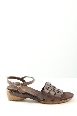 Gabor Comfortabele sandalen bruin casual uitstraling