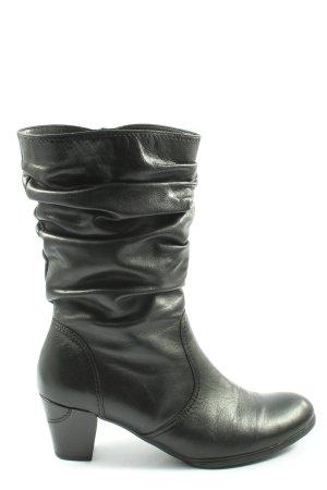 Gabor Krótkie buty czarny W stylu casual