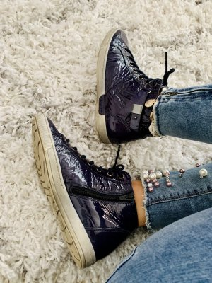 Gabor Lack Sneaker marineblau dunkelblau 36