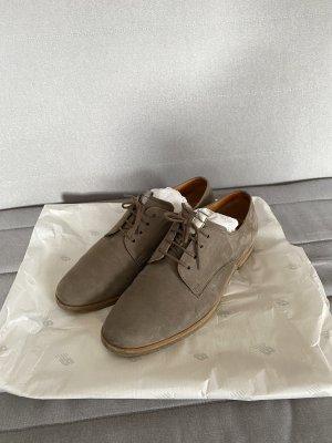 Gabor Zapatos brogue gris-gris oscuro