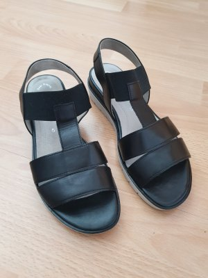 Gabor Sandalias cómodas negro-gris claro