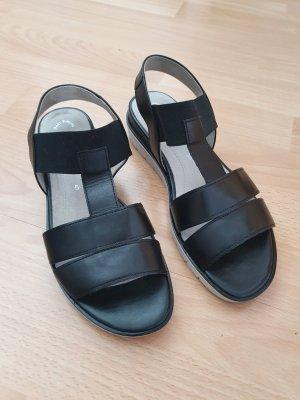 Gabor Sandalo comodo nero-grigio chiaro