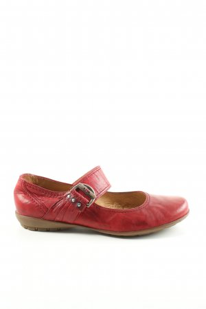 Gabor Scarpa Mary Jane rosso stile casual