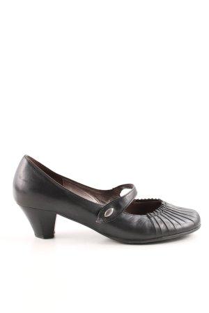 Gabor Mary Jane pumps zwart casual uitstraling