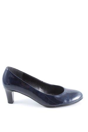 Gabor Mary Jane pumps blauw zakelijke stijl