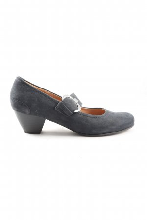 Gabor Mary Jane pumps lichtgrijs casual uitstraling
