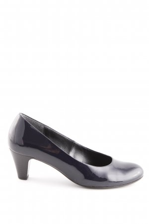 Gabor Mary Jane pumps donkerblauw casual uitstraling