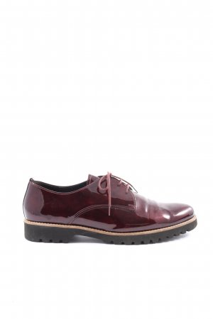 Gabor Oxfords red business style