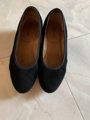 Gabor Zapatos de cuña negro