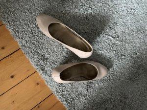 Gabor Zapatos de tacón con barra en T nude-crema