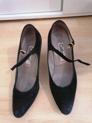 Gabor Pointed Toe Pumps black
