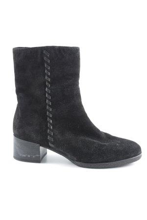 Gabor Reißverschluss-Stiefeletten schwarz schlichter Stil