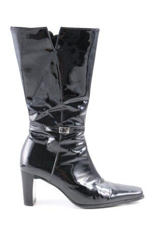 Gabor Reißverschluss-Stiefeletten schwarz extravaganter Stil