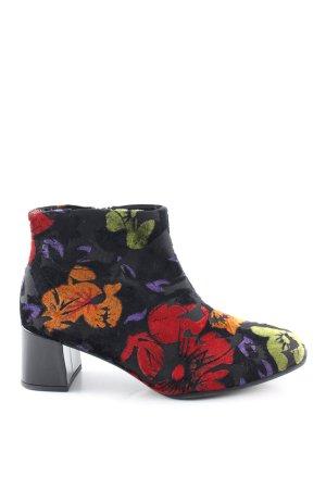 Gabor Reißverschluss-Stiefeletten Blumenmuster Casual-Look