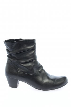 Gabor Zipper Booties black casual look