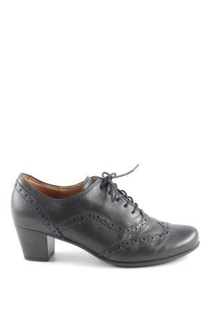 Gabor Richelieus Shoes black casual look