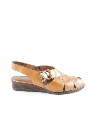 Gabor Riemchen-Sandalen braun Vintage-Look