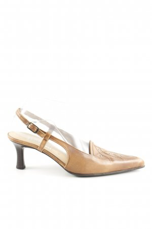 Gabor Riemchen-Sandaletten wollweiß Business-Look