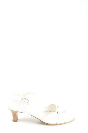 Gabor Riemchen-Sandaletten weiß Elegant