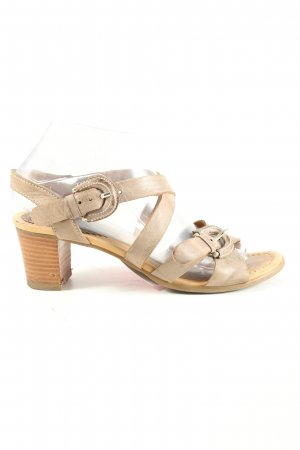 Gabor Riemchen-Sandaletten wollweiß Casual-Look