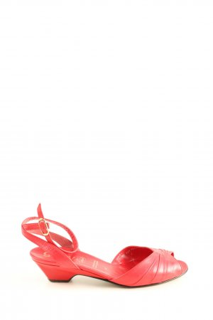 Gabor Riemchen-Sandaletten rot Casual-Look