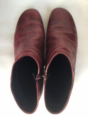 Gabor rote Stiefelette Gr. 41