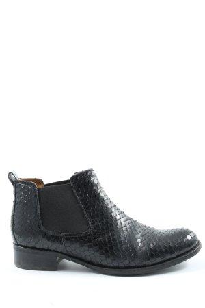 Gabor Slip-on laarzen zwart volledige print casual uitstraling