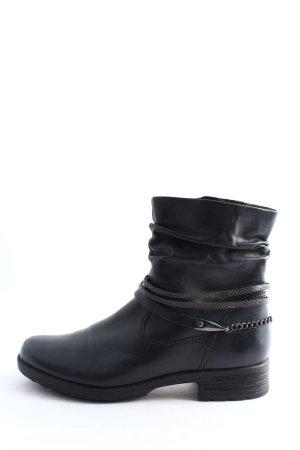 Gabor Slip-on Booties black casual look