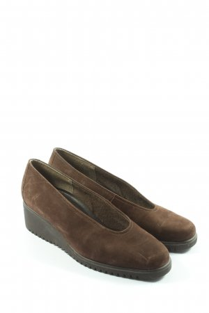 Gabor Slip-on Shoes brown casual look