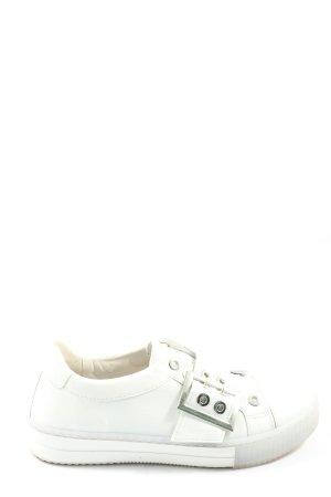 Gabor Sneaker slip-on bianco stile casual