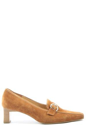 Gabor Loafer arancione chiaro stile casual