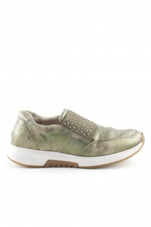 Gabor Slip-on Sneakers khaki-gold-colored color gradient casual look